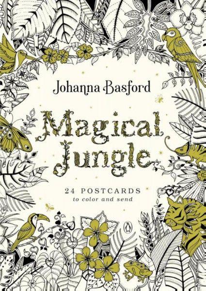 De magie van de jungle kaartenboek