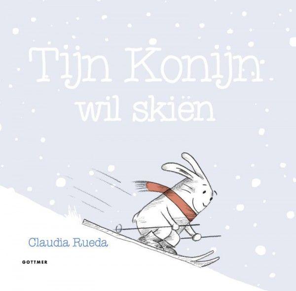Tijn Konijn wil skiën