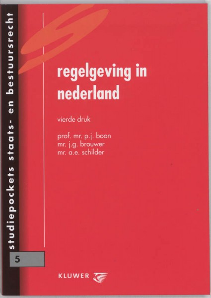Regelgeving in Nederland