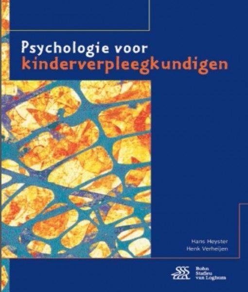 Psychologie voor kinderverpleegkundigen