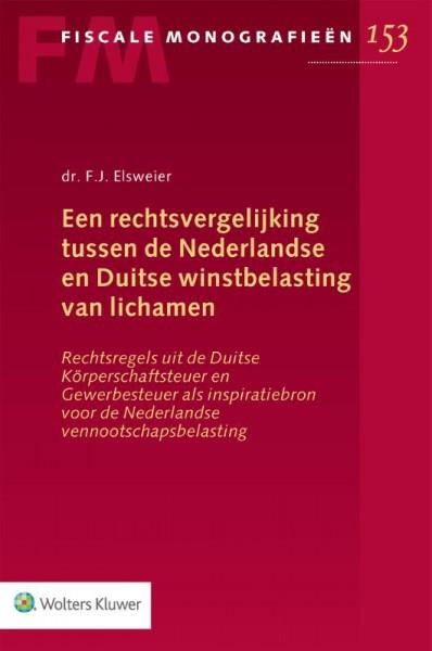Rechtsvergelijking tussen de Nederlandse en Duitse winstbelasting van lichamen