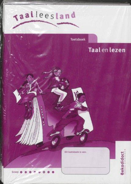 Taaleesland Nieuw set 5 ex Groep 6 toets Werkboek