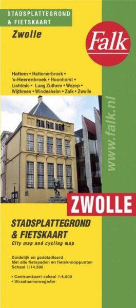 Zwolle stadsplattegrond