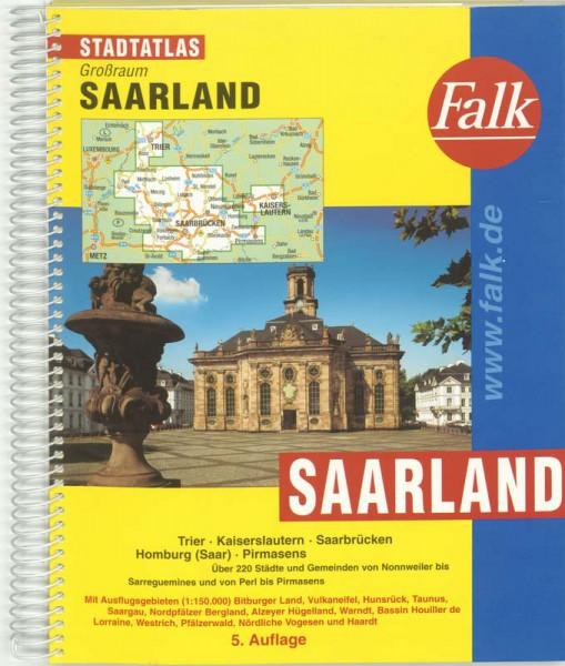 Saarland e.o. kaartboek