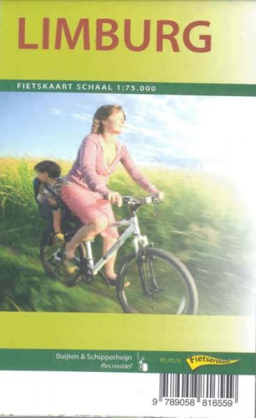Fietskaart 1:75.000 6 ex. Regio Limburg 17