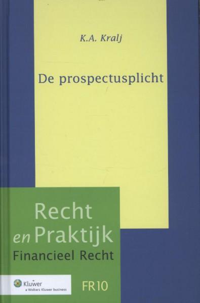 De prospectusplicht