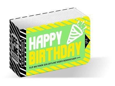 Flipboekje - Happy Birthday