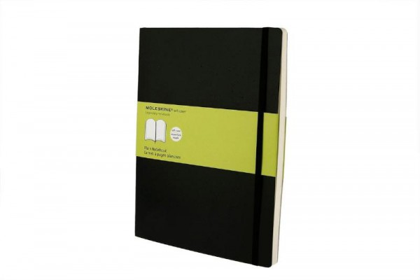 Moleskine Xlarge Plain Notebook