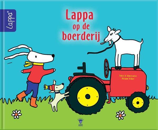 LAPPA® Kinderboeken Lappa op de boerderij