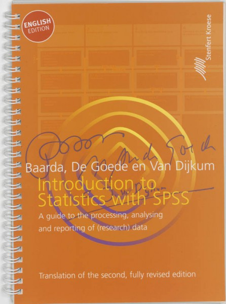 Introduction to statistics with SPSS