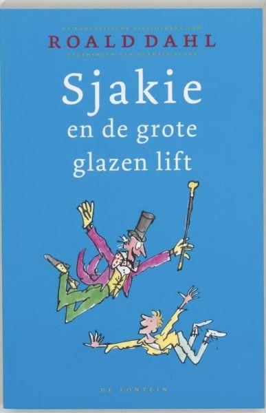 Sjakie en de grote glazen lift, paperback