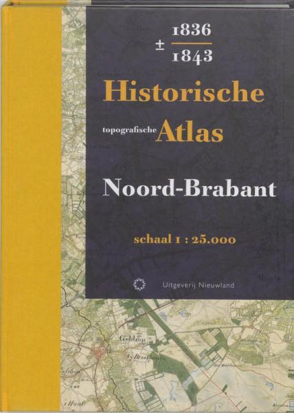Historische topografische Atlas 1836-1843 Noord-Brabant