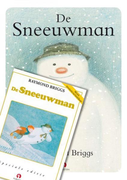 De sneeuwman, prentenboek met dvd