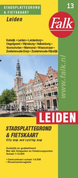 Leiden plattegrond