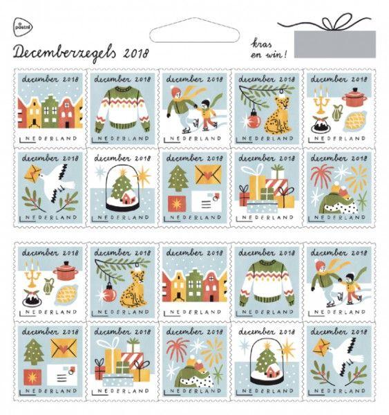 Decemberzegels Nederland 2018