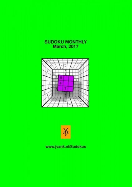 Sudoku monthly march, 2017