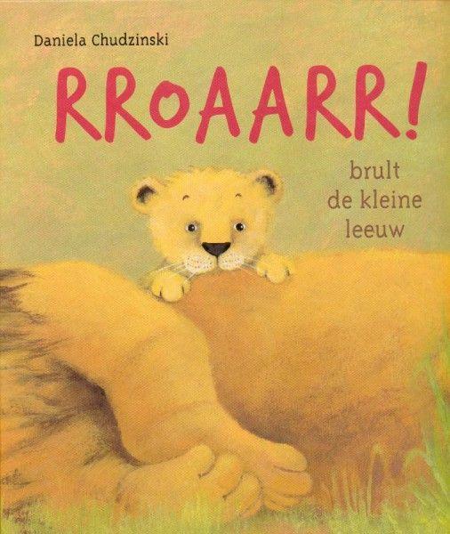 RROAARR! brult de kleine leeuw