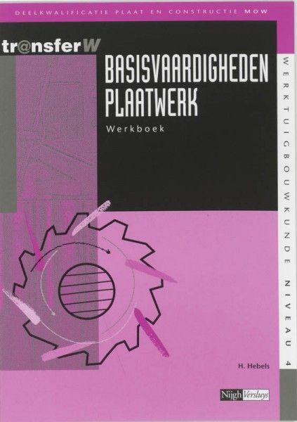 Basisvaardigheden plaatwerk Werkboek