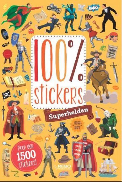 100% stickers voor jongens