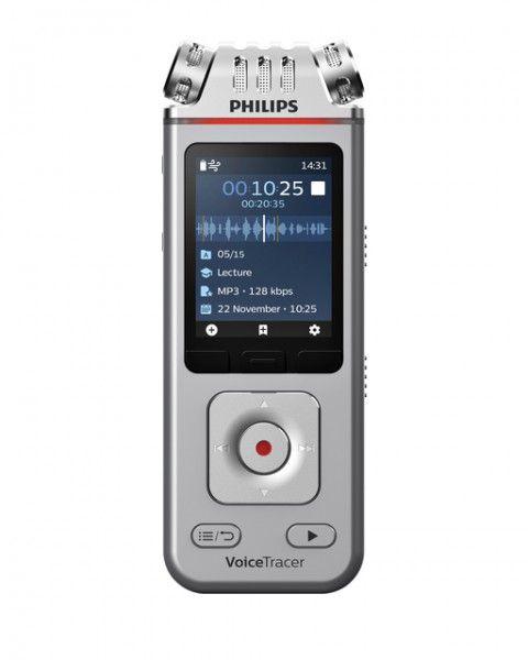 Digital voice recorder Philips DVT 4110 voor lezingen