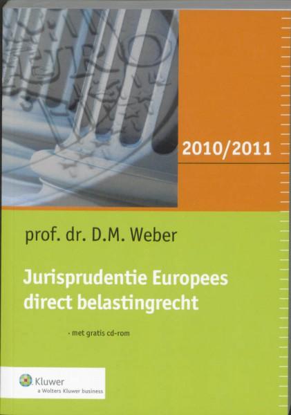 Jurisprudentie Europees direct belastingrecht 2010/2011