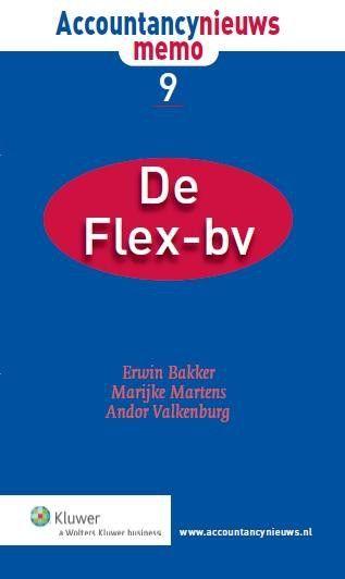 Accountancynieuws memo De Flex-bv