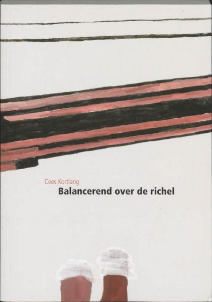 Balancerend over de richel