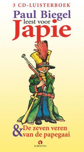 Japie & De zeven veren van de papegaai 3CD's