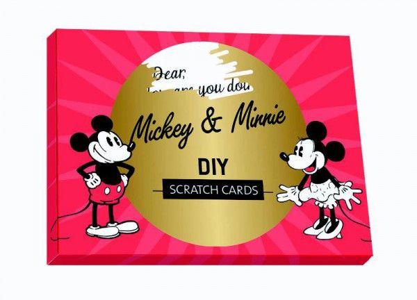 MICKEY MOUSE DIY SCRATCH CARDS SET (5 CARDS)