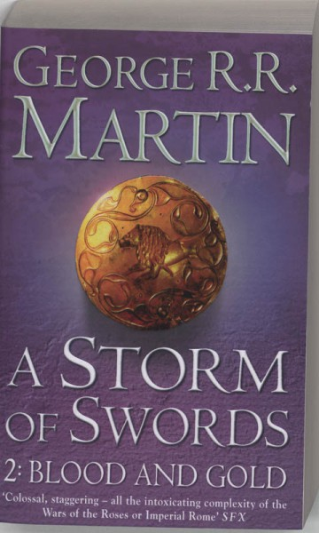 A storm of swords 2 blood and gold