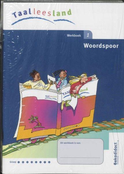 Taalleesland nieuw 5 ex Groep 7 woordspoor Werkboek 1