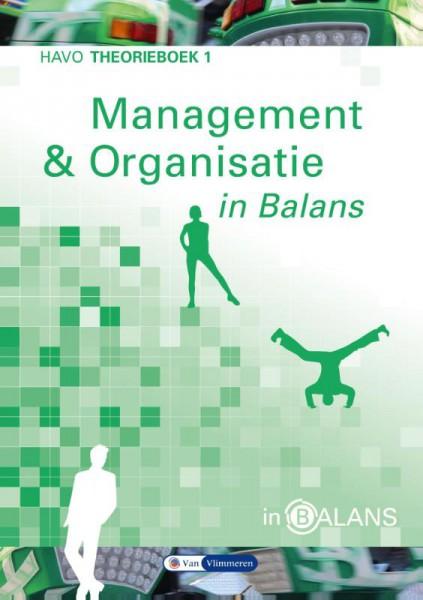 Management en organisatie in balans 1 havo theorieboek