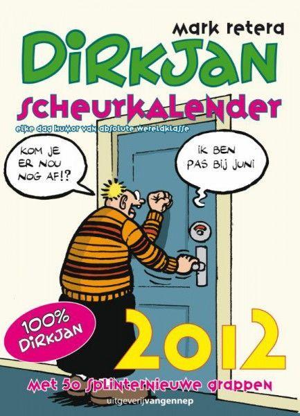 Dirkjan Scheurkalender 2012