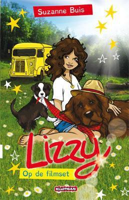 Lizzy op de filmset. Lettertype Dyslexie