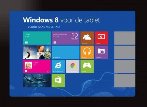 Windows 8 - voor de tablet