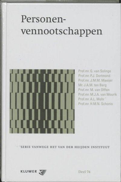 Serie vanwege het Van der Heijden Instituut te Nijmegen Personenvennootschap