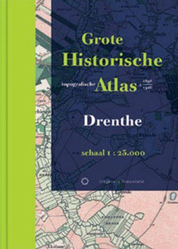 Historische provincie atlassen Grote Historische Topografische Atlas Drenthe