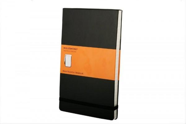 Moleskine Large Ruled Reporter Notebook/Bloc-notes ligne